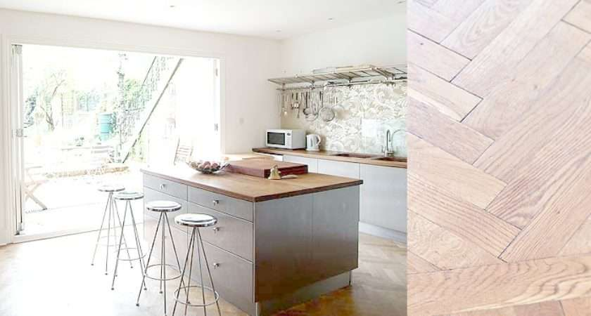 Parquet Floor Kitchen
