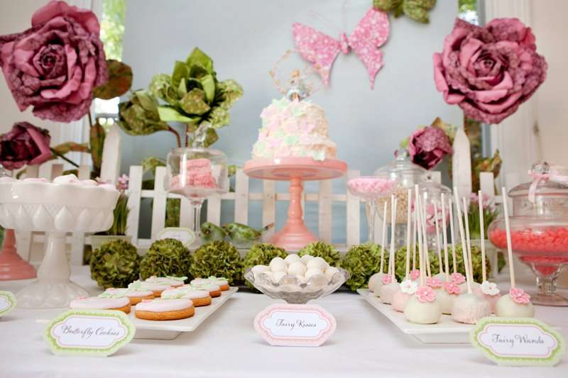 Party Ideas Fairy Garden Birthday Butterfly Kara