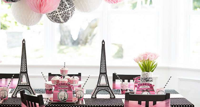 Party Scene Complete Food Ideas Decorating Below