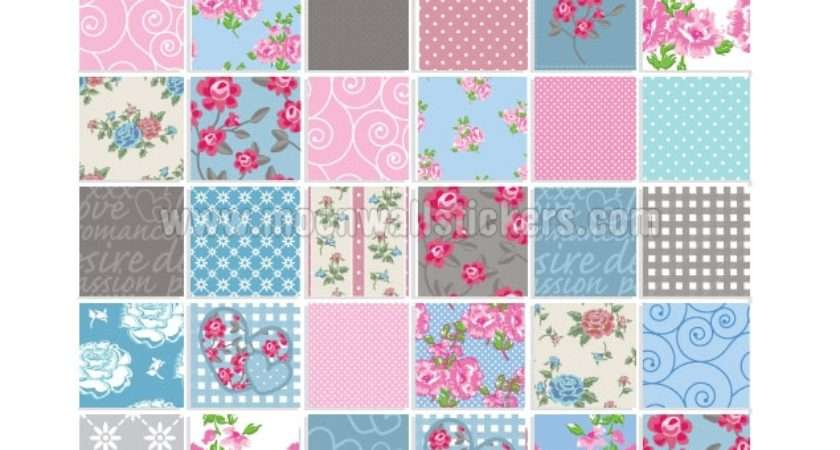 Patchwork Tile Stickers