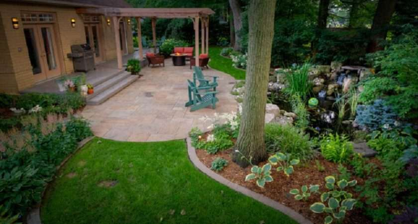 Patio Ideas Small Yard Landscaping Gardening