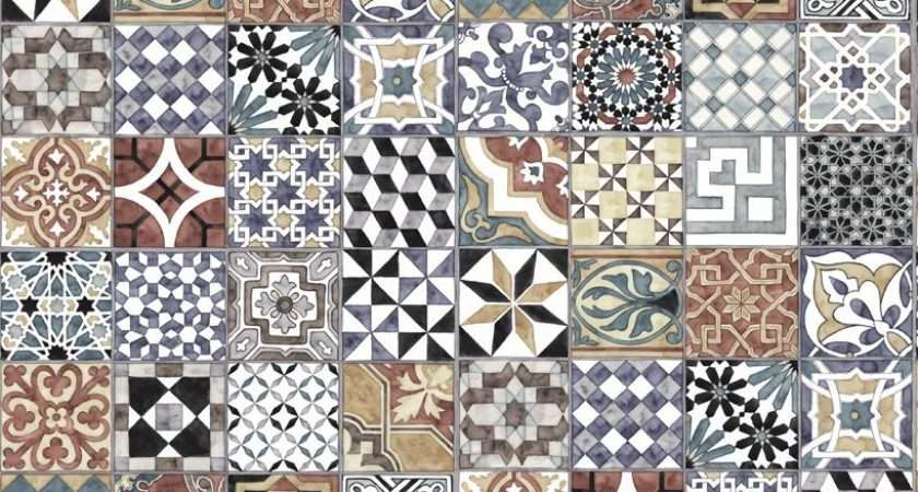 Pattern Tiles Perswall