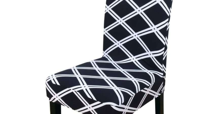 Pcs Flower Striped Stretch Home Decor Dining Chair Cover