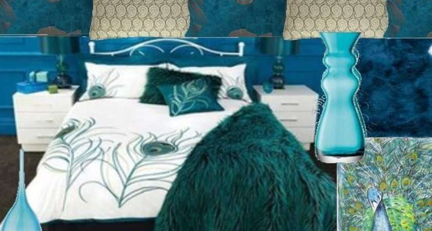 Peacock Themed Bedroom Real Estate