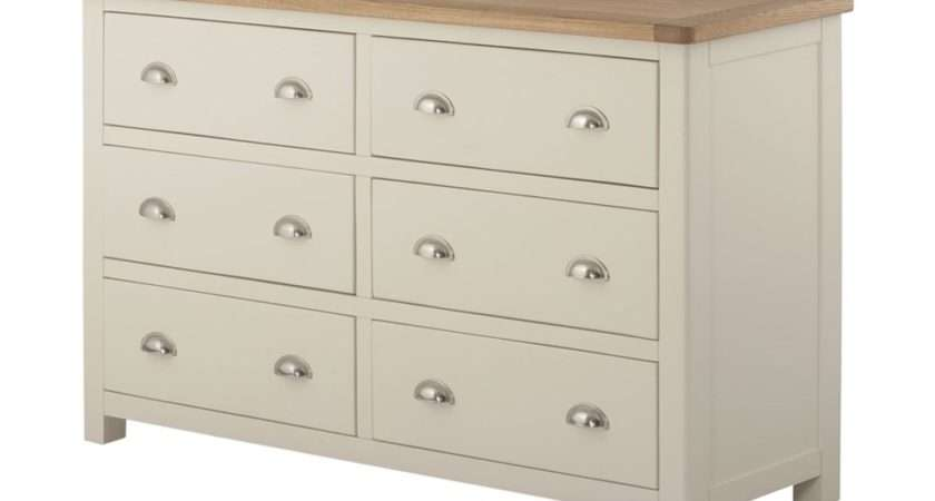 Pemberley Drawer Chest Cream Bedroom Collections