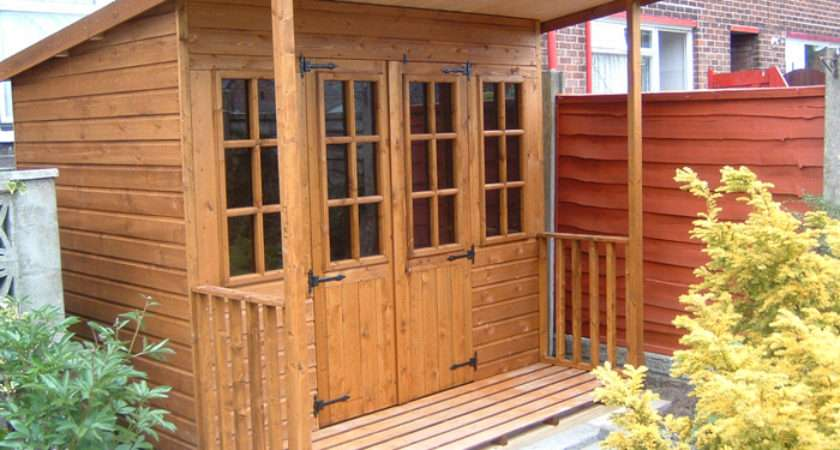 Pent Roof Summer House Copy