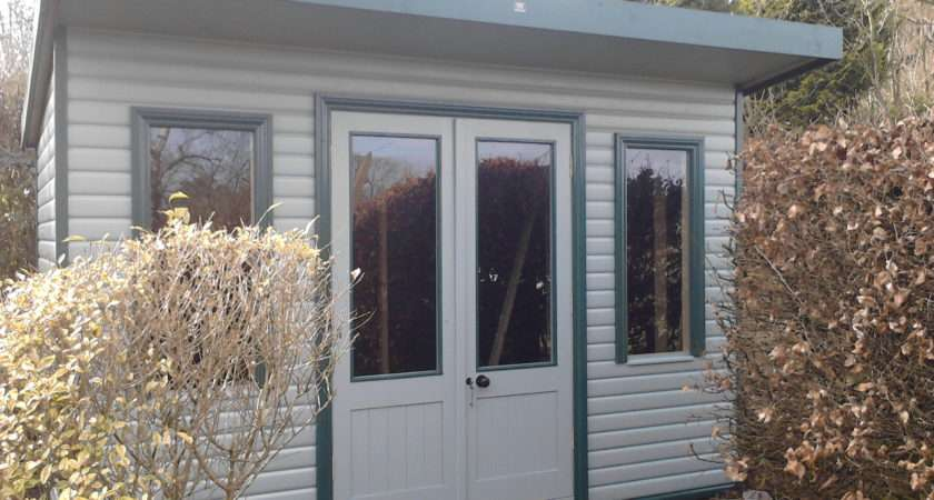 Pent Summerhouse Shed