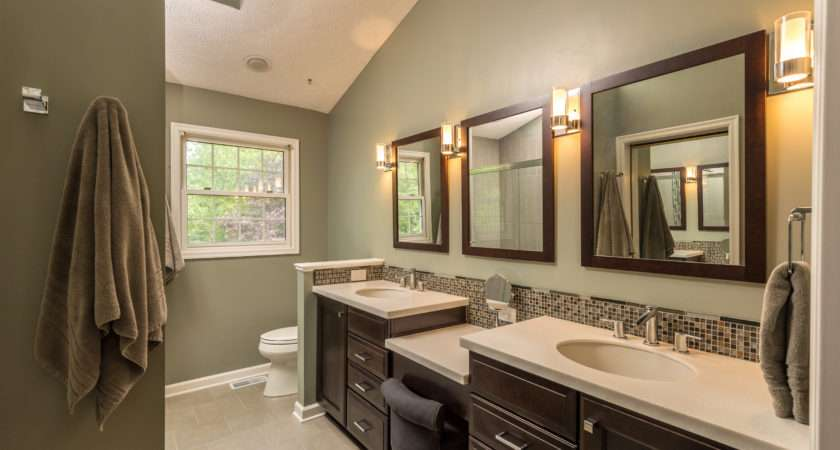 Perfect Cabinet Match Your Bathroom Color Schemes
