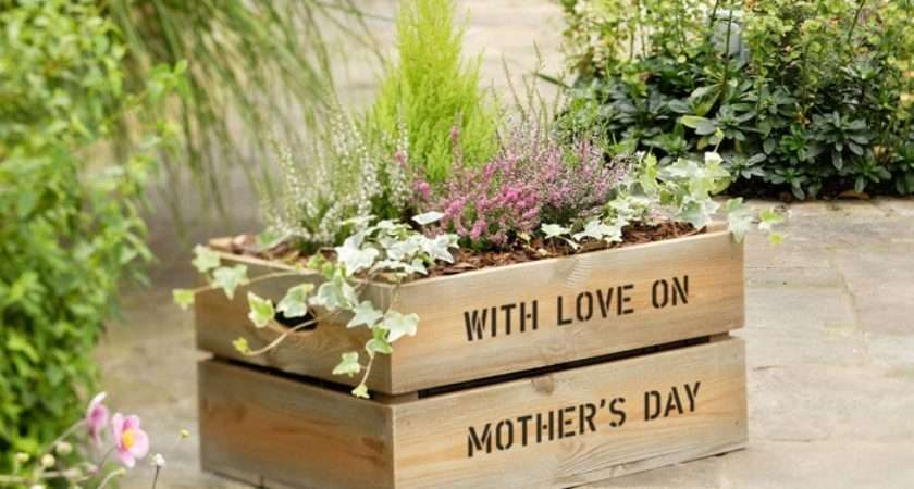 Personalised Apple Crate Planter Salon Nettie Pinterest