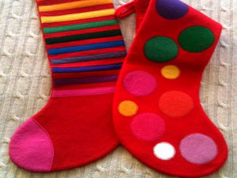 Photos Christmas Stocking Decorating Ideas
