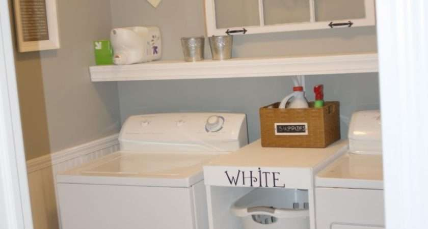 Photos Simple Small Laundry Room Shelving Ideas