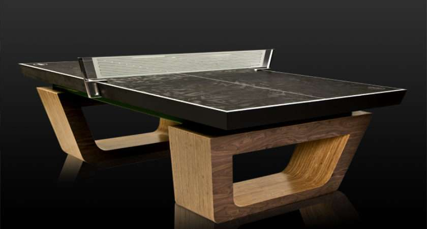 Ping Pong Table Designs Around World Love First