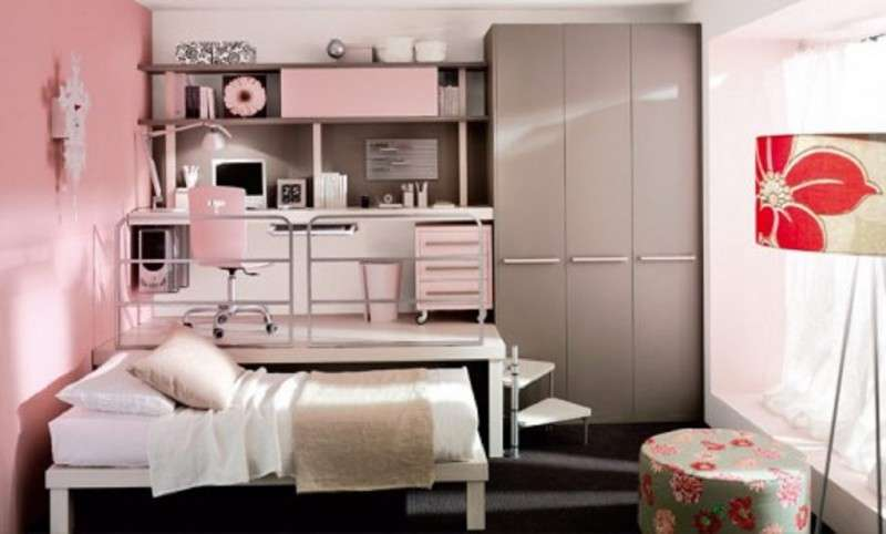 Pink Bedroom Decoration Ideas Kids White