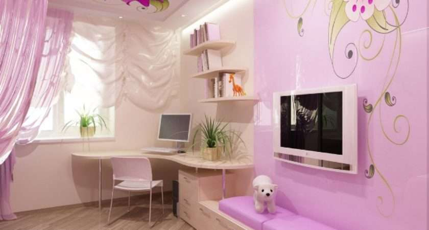 Pink Bedroom Design Little Princess Kidsomania