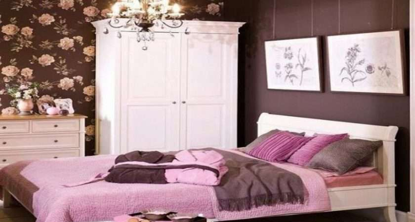 Pink Brown Bedroom Decorating Ideas Chocolate