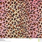 Pink Brown Leopard Print Animal Pattern