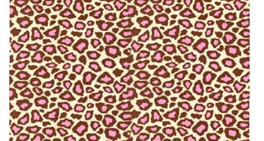 Pink Brown Leopard Print Pretty