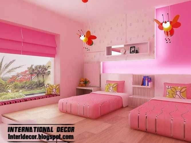 Pink Girl Bedroom Inspire Room Designs Ideas