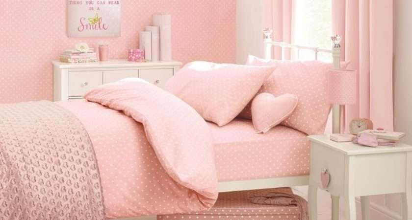 Pink White Polka Dot Bedding All Products Bedroom