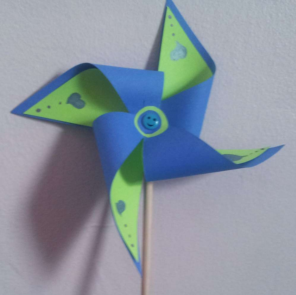 Pinwheel Crafting Kit Windmill Craft Splatzbylisa