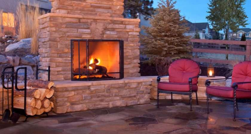 Plan Building Outdoor Fireplace Design