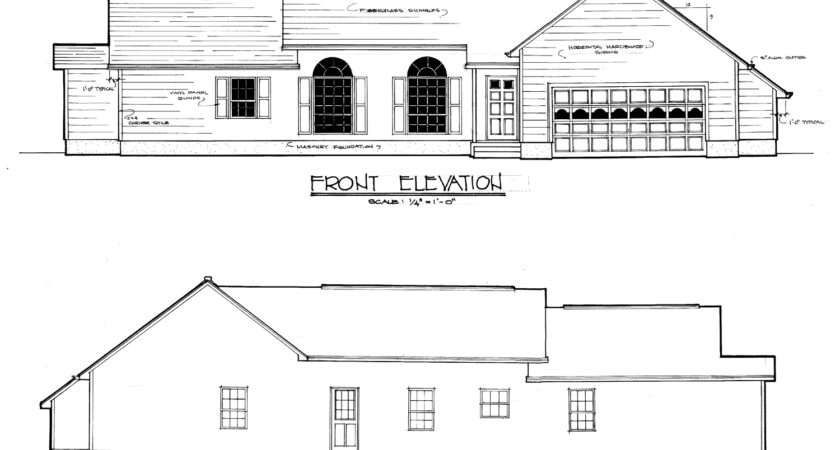 Plan Shows Your Lot Drawn
