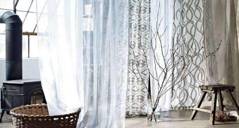 Planning Ideas White Ikea Panel Curtain Your