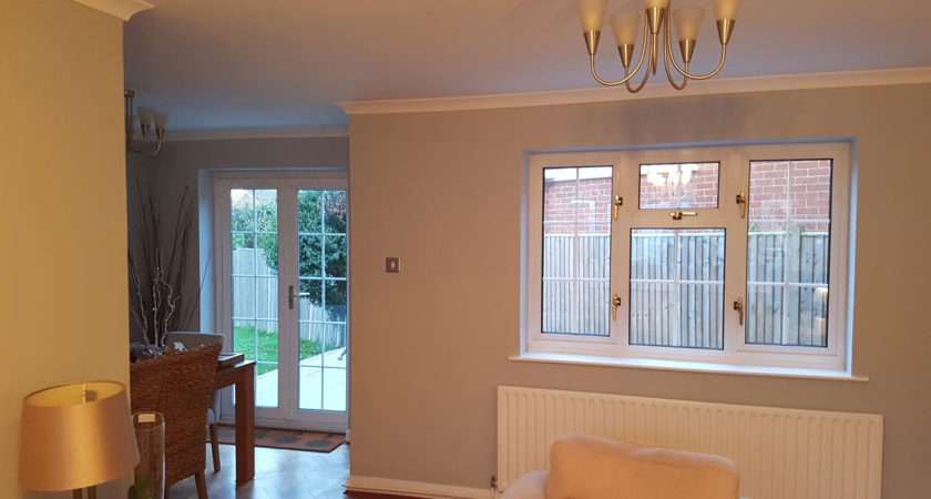 Plantation Shutters Living Room Window French
