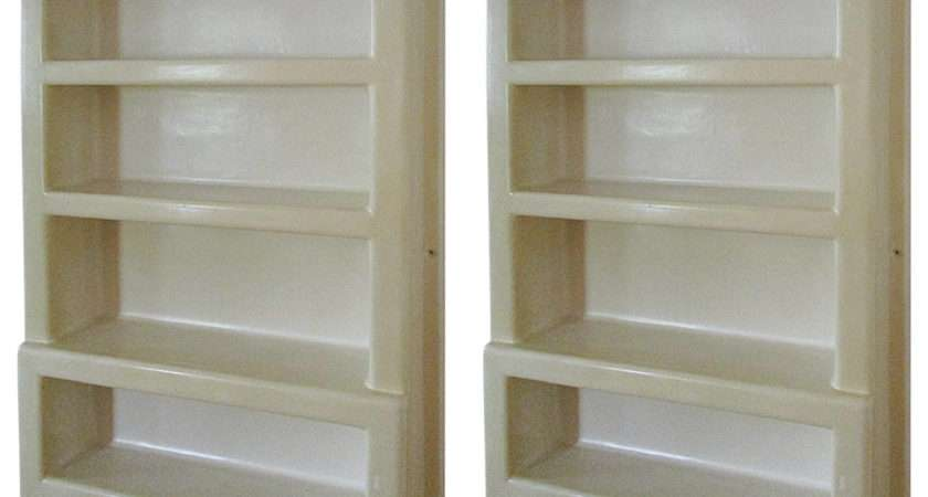 Plastic Wall Mounted Shelving Unit Kitchen Ingredients