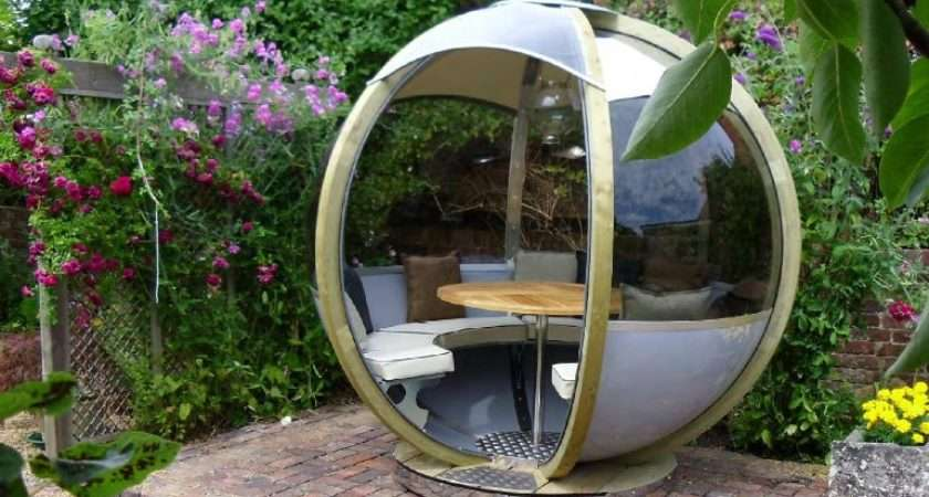 Pod Your Futuristic Garden Lounge Portable Office Has Landed