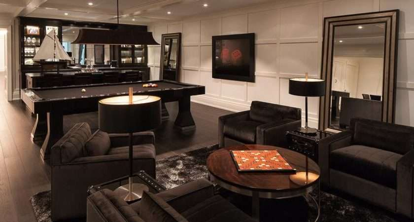 Pool Table Living Room Design Peenmedia