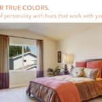Pops Color Vaulted Ceiling Rooms