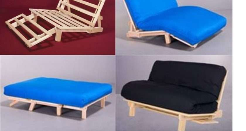 Position Futon Frame Easily Converts Chair Lounger Bed