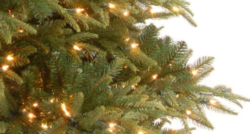 Pre Lit Weeping Spruce Led Feel Real Artificial Christmas Tree