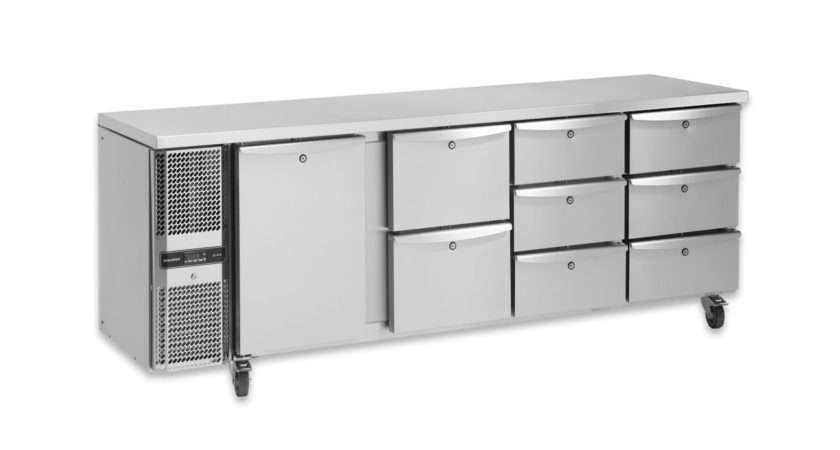 Precision Mcu Door Slimline Fridge Counter Chefsrange