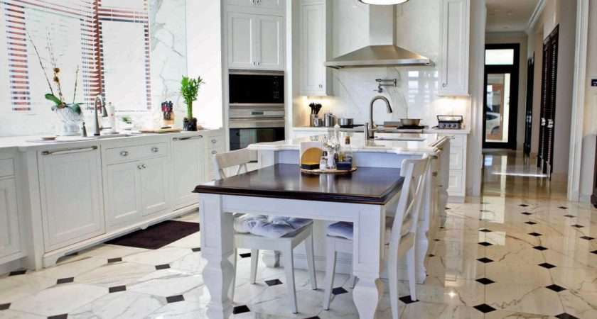 Pretty Stunning Kitchen Floor Tiles Using Small Spaces