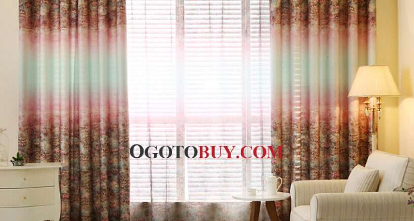Primitive Country Living Room Curtains