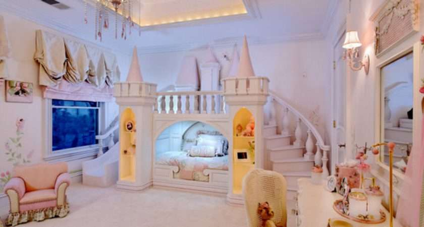 Princess Inspired Girls Rooms