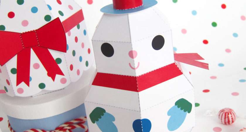 Printable Christmas Paper Crafts Craft Ideas