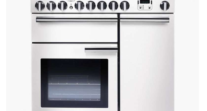 Professional Deluxe Induction Chr Ceramic Range Cooker