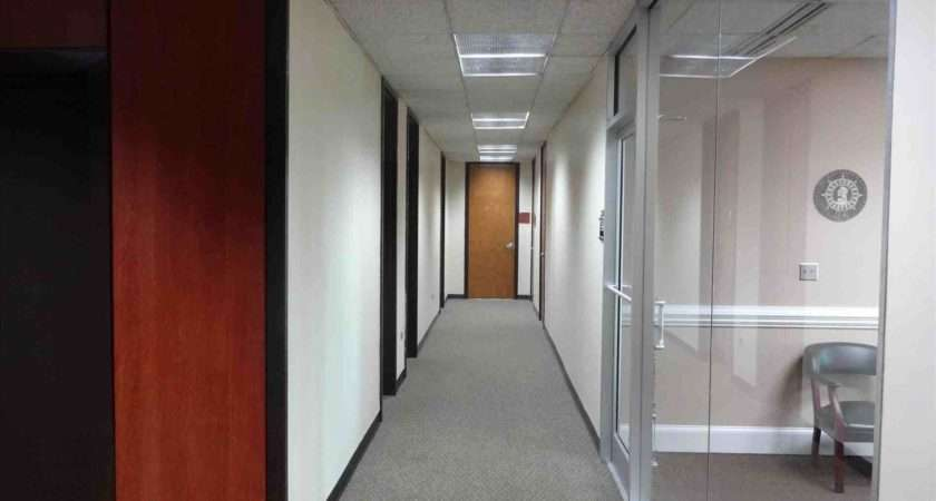 Property Office Hallway Lighting Managers Upgrade