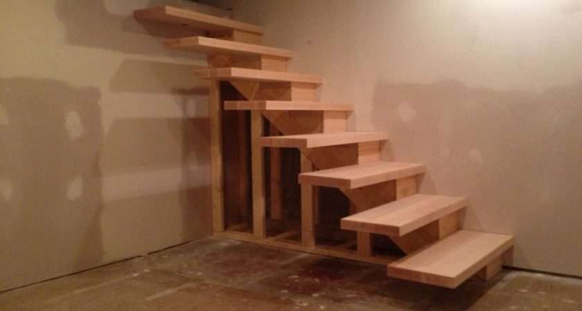 Published July Build Floating Stairs