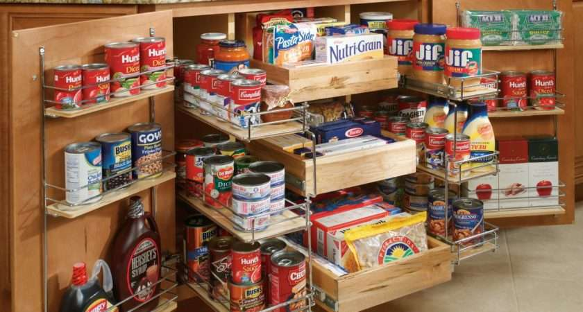 Pullout Pantry Shelving Solutions Home Remodeling Ideas