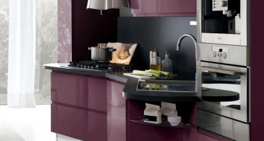 Purple Kitchen Accessories Home Ideas