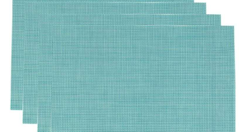 Pvc Insulation Pad Placemat Green Dining Table Kitchen