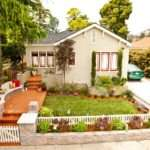 Quaint Cottage Style Home Exterior Beautiful Landscaping Hgtv