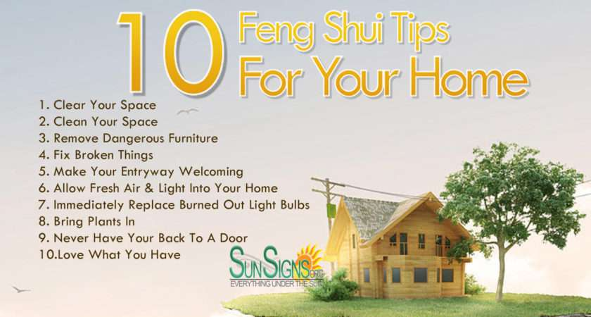 Quick Feng Shui Tips Your Home Sun Signs