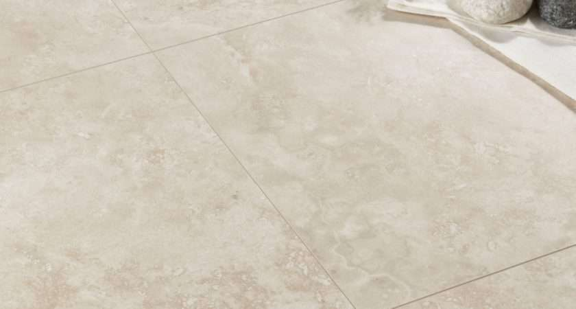 Quickstep Tila Cream Travertine Tile Effect Laminate