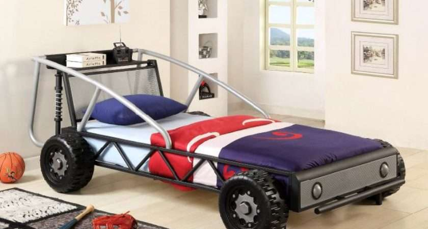 Race Car Bed Boys Furniture America Max Metal