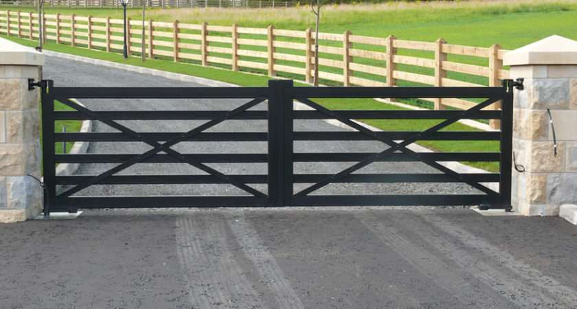 Ranch Style Gate Designs